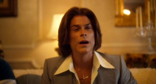 "How could you pass up the opportunity to prominently display this picture of Rob Lowe from ""Behind the Candelabra."""
